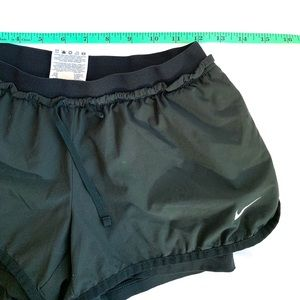 Gently used condition, black Nike dri fit shorts